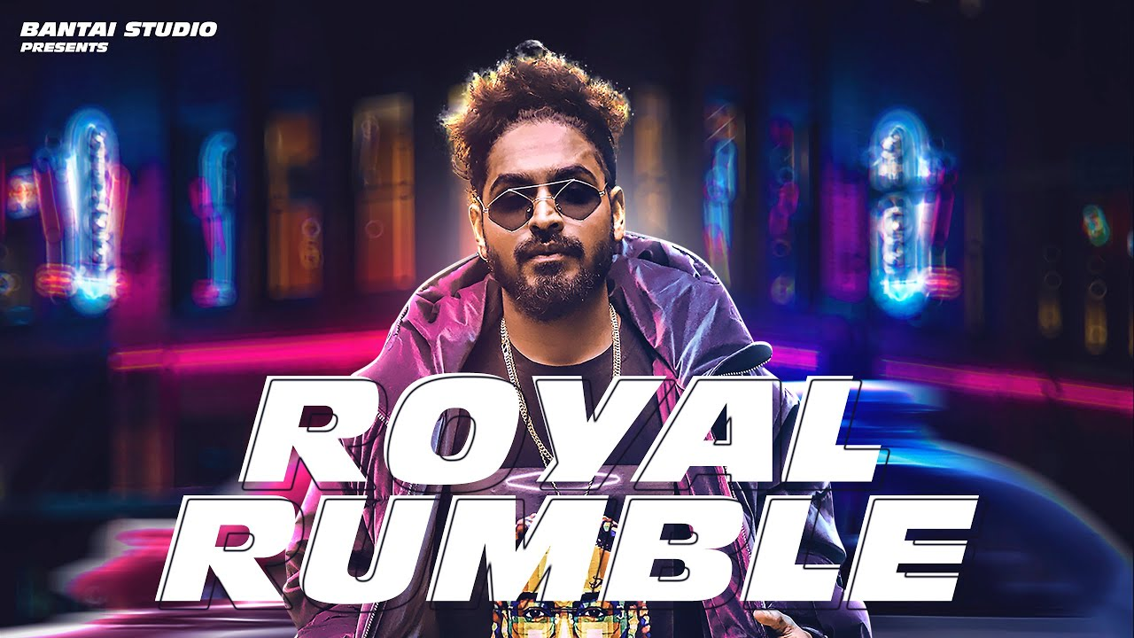 royal rumble emiway bantai mp3 song