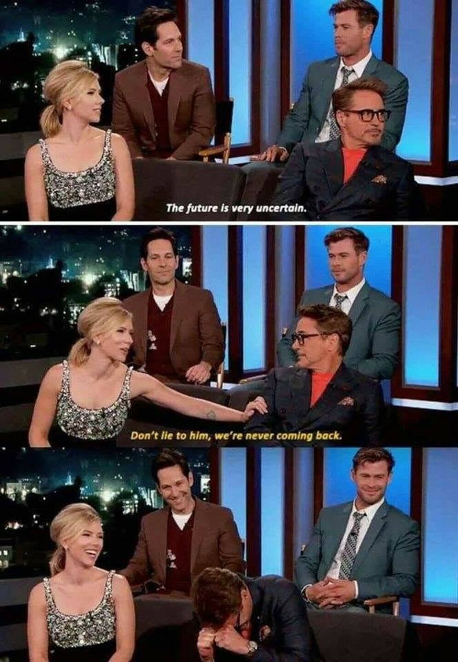 Marvel Cast Interview Moments