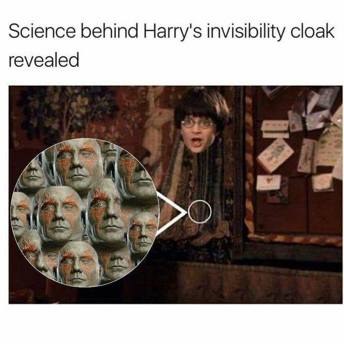 Avengers And Harry Potter Crossover Memes