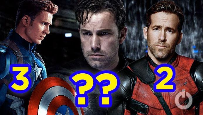 Actors Superhero Roles