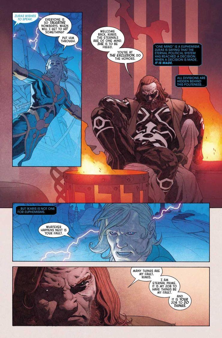 Eternals Releasing Thanos-Level Threat