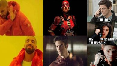 DCEU Flash Vs Arrowverse Flash Memes