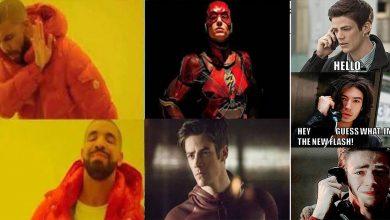 DCEU Flash Vs Arrowverse Flash Memes