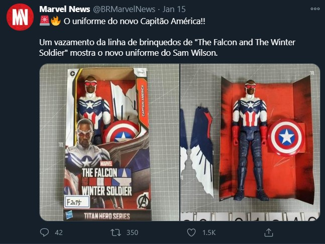 Falcon and Winter Soldier Spoils Next Captain America