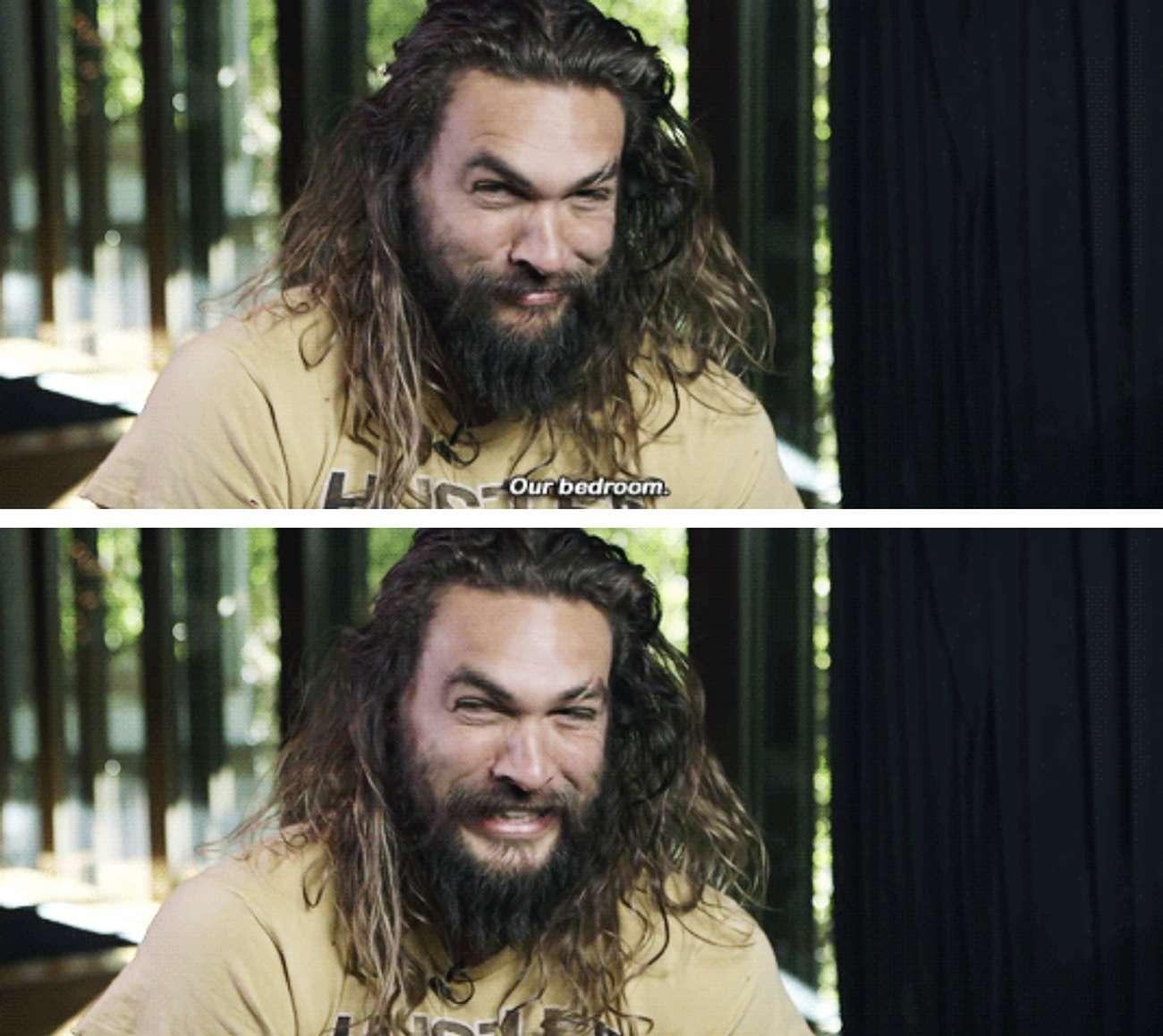 Jason Momoa Interview Moments
