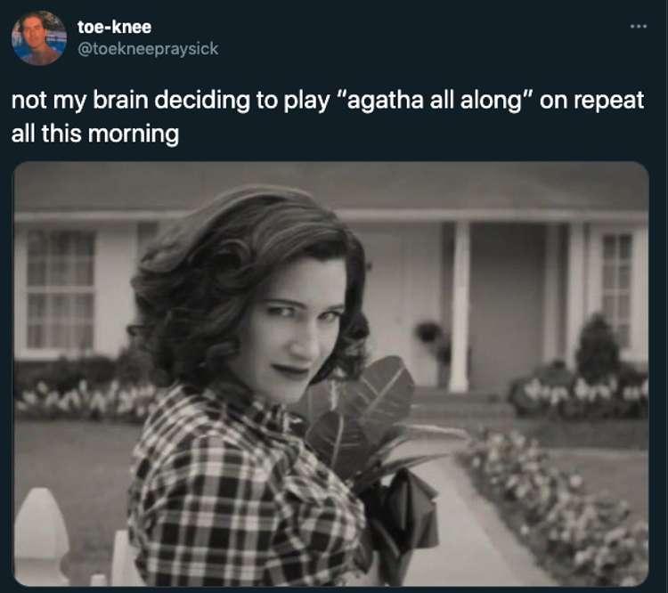 Funniest It's Agatha All Along Memes
