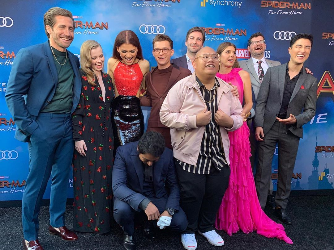 Moments of Spider-Man Cast Together