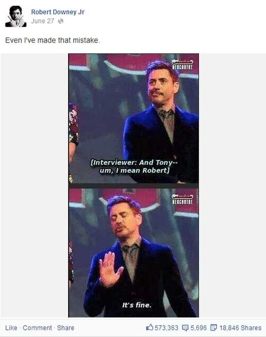 Robert Downey Jr. Moments Prove He Is Tony Stark In Real Life