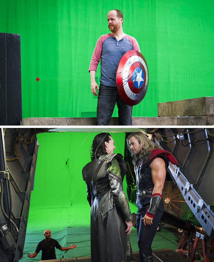 Behind-The-Scene Images From Movies And TV Shows