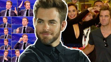 Adorable Chris Pine Moments