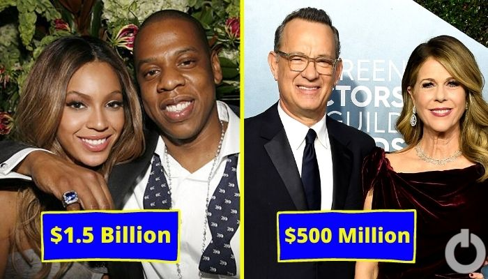 Celebrity Couples Collective Net Worth