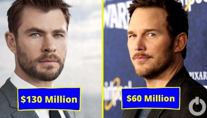 Hollywood Chrises Net Worth