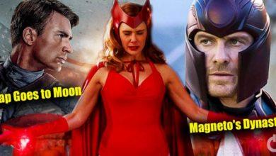Wanda Reshaping Reality In Marvel