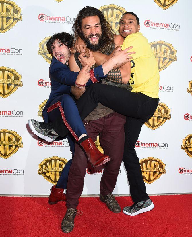 Justice League Cast Moments