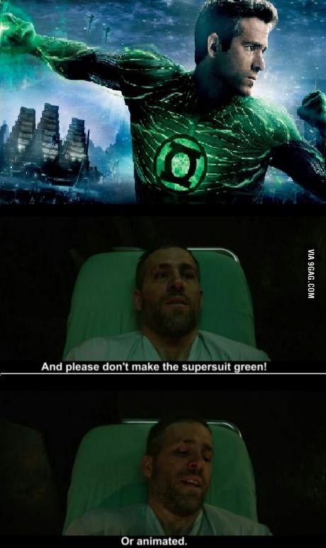 Ryan Reynolds Brutally Trolled Green Lantern