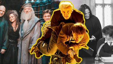 Unseen Harry Potter On Set Images