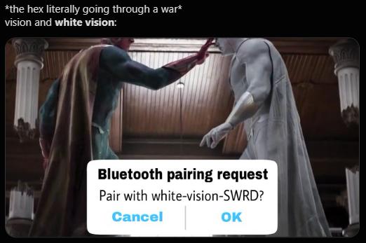 White Vision memes