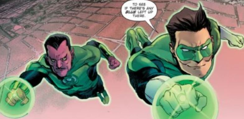 Who is Zack Snyder's Justice League Green Lantern?