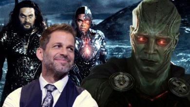 Zack Snyder Reshoot Martian Manhunter Scenes