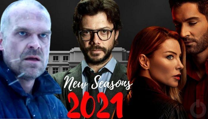 Netflix Original Series New Seasons in 2021