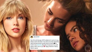 Taylor Swift Calls Out Ginny And Georgia