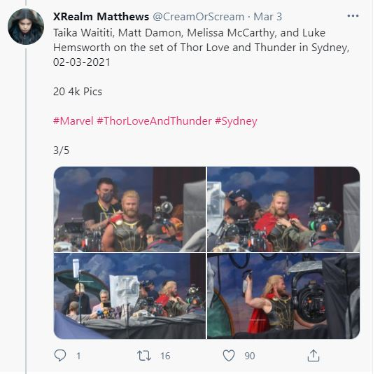 Thor 4 Play Set Photos