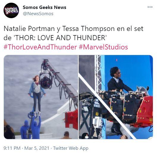 Thor 4 Return of Jane Foster