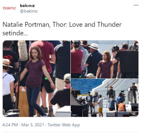 Thor 4 Return of Jane Foster