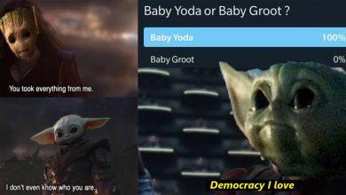 Baby Groot Vs Baby Yoda Memes The Best Thing