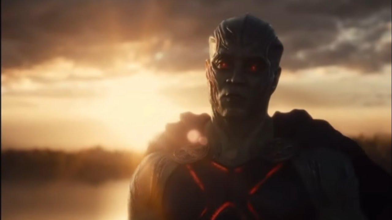 Zack Snyder Reshoot Martian Manhunter Scenes