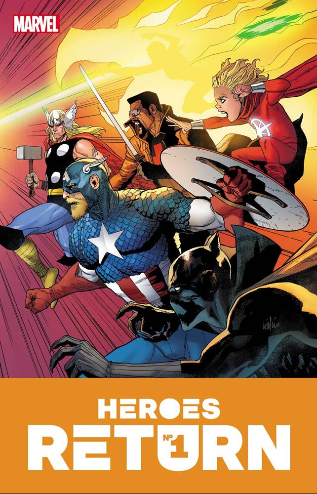 Marvel's Justice League Take On Avengers