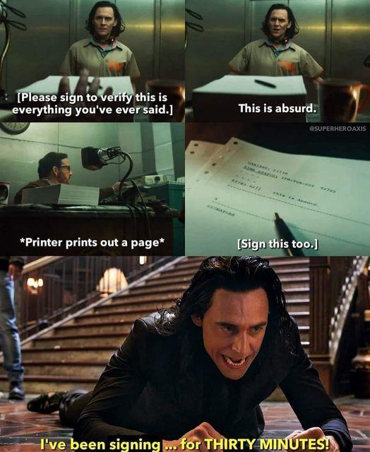 Mischievious Loki Memes