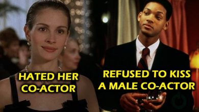 Actors refused to kiss on screen
