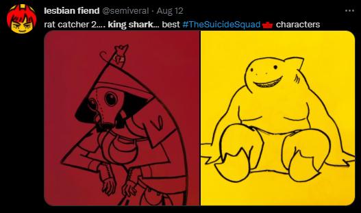 King Shark Fan Art