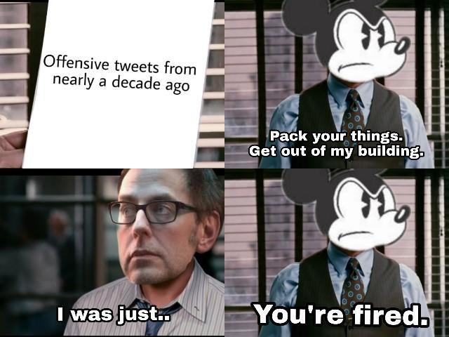 Disney v/s James Gunn
