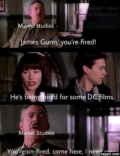Marvel fires and un-fires James Gunn