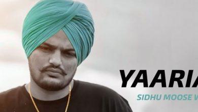 Yaariyan Sidhu Moose Wala Song Download Mp3